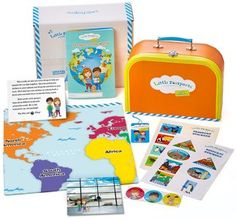 World Themes for Preschoolers | Geography Subscription for Preschoolers