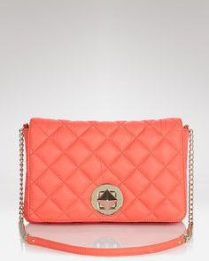 love the coral color of this Kate Spade bag