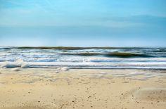 Nieuw in mijn Werk aan de Muur shop: Het strand van Bergen aan Zee Noord-Holland