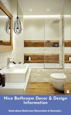 Bathroom decor diy hacks Way too many accessories or too much furniture can create a room feel smaller and more cramped than it is. A wiser move is always to choose a couple of key furnishings within the room and maximize your open space. Diy Bathroom Decor, Simple Bathroom, Bathroom Styling, Bathroom Interior Design, Bathroom Showrooms, Bathroom Renovations, Latest Bathroom Designs, Home Additions, Bathroom Faucets