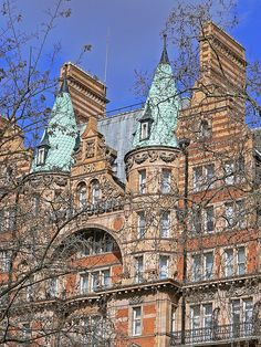 Gothic - Hotel Russell, Russell Square. Worked in a solicitors in this square in another life.
