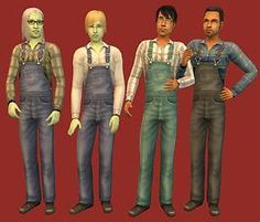 Mod The Sims - 6 Basegame Outfits - default replacement