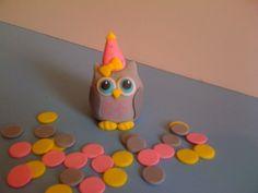 Owl Cake topper by HauteTart on Etsy, $14.00
