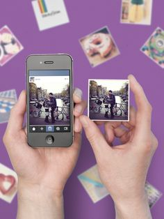 Print your Instagrams for loved ones with @Sticky9!