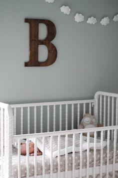 dreamy baby boy nursery room // Blissfully Blessed