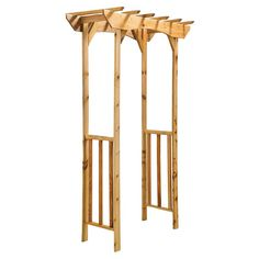 Great Lakes Outdoor Living Grande Sunshine Arbor   from hayneedle.com