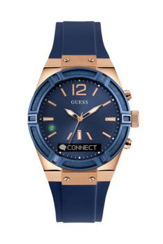 GUESS CONNECT Smartwatch in Blue 41mm | GUESS.com / #GUESSConnect #GUESSWatches