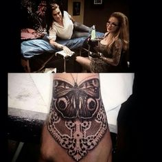 Ellen westholm ... Lace tattoo ❤