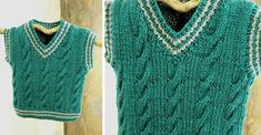 Dress up your little kid with this Keene knitted toddler vest. Your little gentleman will look dashing in this knitted vest. FREE pattern download here ...