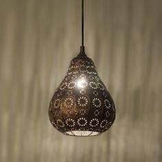 Lámpara colgante BILLA cobre #iluminacion #decoracion #interiorismo