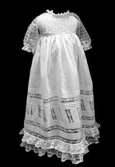 contemporary christening gown from martha pullen