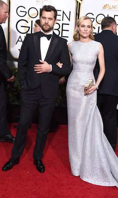 Canadian actor Joshua Jackson and his longtime love, Diane Kruger, make a stylish double act on and off the red carpet, regularly coordinating their looks in complementary ensembles. Most Stylish Men, Hottest Male Celebrities, Diane Kruger, Bridesmaid Dresses, Wedding Dresses, Gentleman, Red Carpet, Jackson, That Look