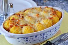 Hankka: Rakott puliszka Cod Fish, Casserole, Macaroni And Cheese, Food And Drink, Potatoes, Cooking, Ethnic Recipes, Kitchen, Pork