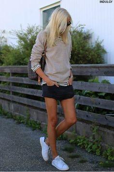 20 Ways To Wear Stan Smiths | sheerluxe.com