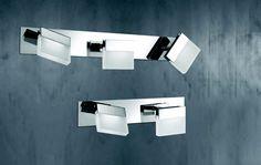 Koupelnové osvětlení LED  WOFI WO 7501.02.01.0044 (SONETT) Koupelnové svítidlo pro dostatečné osvětlení celého prostoru vaší koupelny #interier #interior #modern #moderní #wofi #svítidlo, #osvětlení, #světlo, #light #indoor #wall #bathroom #koupelna #led