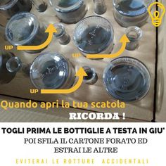 COME APRIRE CORRETTAMENTE LE TUE SCATOLE DI BOTTIGLIE .... ed evitare rotture !, Tappi e Bottiglie personalizzati
