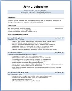Accounting Major Resume Example | Accounting | Pinterest ...