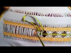 Lo básico en deshilado para realizar las puntadas del muestrario. Se trata de delimitar un área, sacar los hilos y realizar un