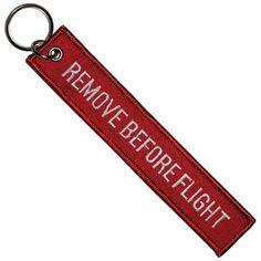 Remove Before Flight Keytag