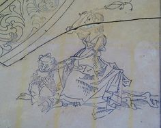 Phyllis riding Aristotle [about 1500 CE]    Phyllis riding Aristotle [about 1500 CE] Wiles of women...