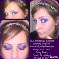 LOVE LOVE LOVE... Younique's 100% mineral eye pigments!  Check out my look for a night on the town!!  Order link in bio!!!