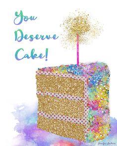 Cake cake cake!!!!Happy, happy birthday!