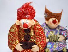 Елочная игрушка. Красный клоун. - елочная игрушка,игрушка клоун,ёлочная игрушка