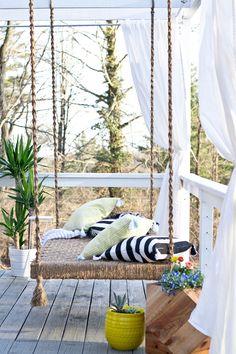 sarah m. dorsey designs: Home Depot Patio Style Challenge Reveal