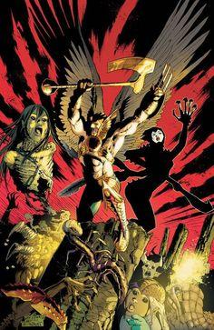 Hawkman by Joe Bennett