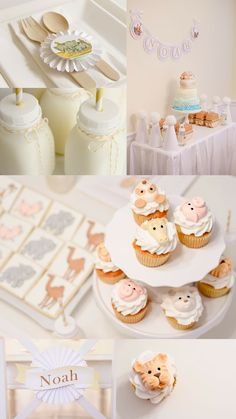 Noah's Ark Birthday Party | Styled by Kate Landers featured on The TomKat Studio