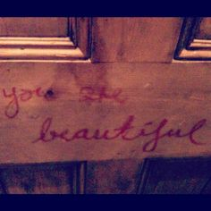 unlikely to find on the back of a toilet door...