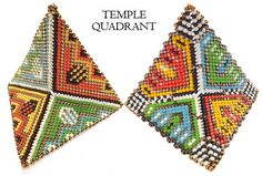 Image of Warped Square Earring Packet