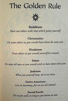 Religion is all about humanity.