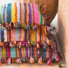 La Maison Boheme: Woven Textiles | Layer it On
