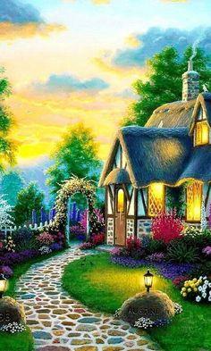 Landscape Artwork, Landscape Wallpaper, Fantasy Landscape, Beautiful Nature Wallpaper, Beautiful Landscapes, Nature Pictures, Beautiful Pictures, Greek Goddess Art, Scenery Paintings