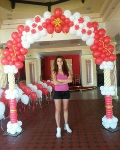 Balloon arch!!