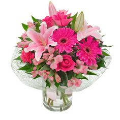 Beautiful Flowers For Happy Birthday