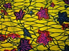 Feuilles de manioc African Prints, African Fabric, Fabric Names, Decoration, African Fashion, Printing On Fabric, Wax, Painting, Zentangle Drawings