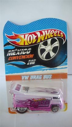 2011 Hot Wheels Mexico 4th Convention VW Drag Bus 39/50