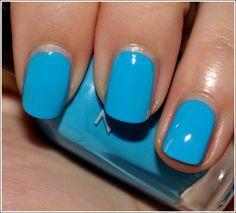 Zoya Robyn, what a beautiful blue. I love Zoya polish it is my #2 favorite brand of polish.