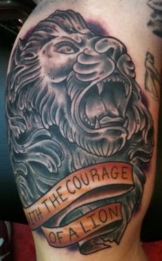 LION  Tattoo Picture at http://CheckoutMyInk.com Love this!!