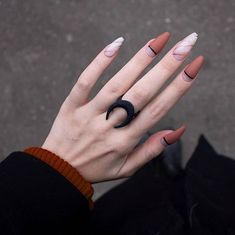 Matte nails are so popular in the beauty world these days. In case you were looking for perfect nails, we have picked out 40 matte nail designs for you to try. Perfect Nails, Gorgeous Nails, Love Nails, Fun Nails, Weird Nails, Matte Nail Colors, Matte Nails, Acrylic Nails, Glitter Nails