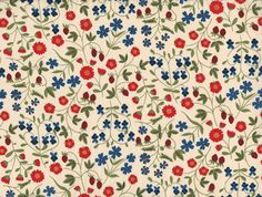 love Little Green Notebook's happy floral picks. Liberty of London.