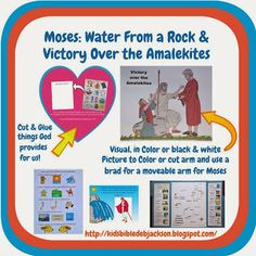 Bible Fun For Kids: Moses: Water From a Rock & Victory over Amalekites