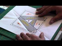 Trabalhando c/ Paper Piecing 1 - YouTube