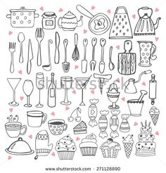 I love cooking. Kitchen utensils collection