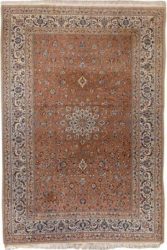 Nain carpet  Central Persia  circa 1930  size approximately 6ft. 11in. x 10ft. 5in.