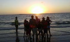 Lar Calábria de férias na casa de praia em S. Luís.