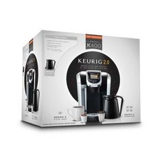 House System Single Serve Coffee Brewing Keurig K Cup Reusable Touch Display $213.29 #Keurig