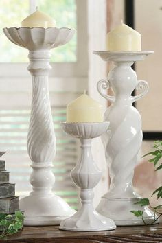 Lucile Candlesticks - Candles And Candle Holders - Home Accents - Home Decor | HomeDecorators.com